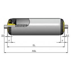 Rouleaux ACIER RL400 8R