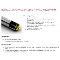 Rouleaux ACIER RL500 AXE8 R