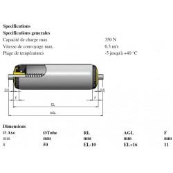 Rouleaux ACIER RL500 8R