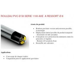 schema rouleaux pvc diametre 50 à ressort